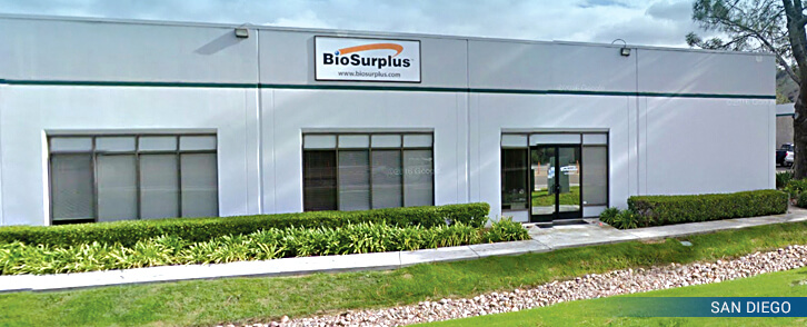 BioSurplus San Diego Location